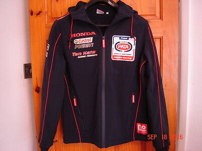 Genuine Pata Honda team Soft shell coat HRC Ten Kate size small
