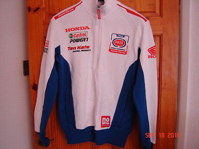 Genuine Pata Honda team sweatshirt HRC Ten Kate size medium
