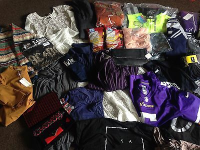 Huge Joblot / Bundle Mixed Clothes and Accessories Mostly new - over 50 items!