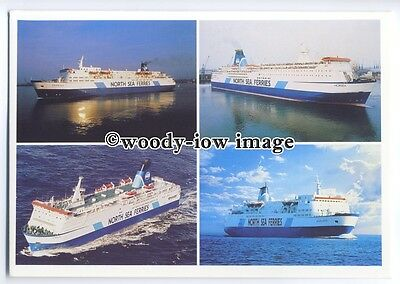 FE0976 - North Sea Ferries - multiview postcard