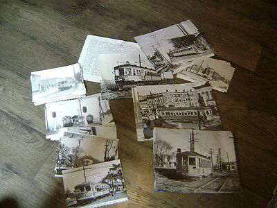 Lot of 71 Vintage Midwest Traction Photos