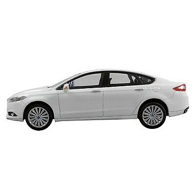 2013 Ford Fusion White Factory Ford 1/43 1:43 Diecast Model Car W Ford Display