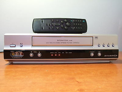 Video VHS INTERNATIONAL 612R 6 Cabezales HIFI STEREO LP/SP grabador reproductor