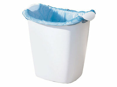 Rubbermaid 2385-00 Recycle Plastic Bag Small Wastebasket New White