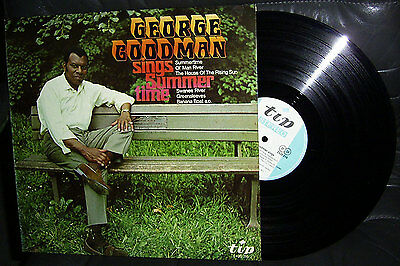 LP GEORGE GOODMAN - SINGS SUMMER TIME * TIP RECORDS 60's GERMANY * TOP * RARE m