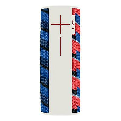 UE MEGABOOM by Ultimate Ears Bluetooth NFC Portable Speaker - White/Blue/Red