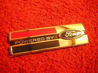 Ford Mustang Shelby Gt500 Gt/cs Gt350 Gt40 Powered By Ford Fender Emblem New
