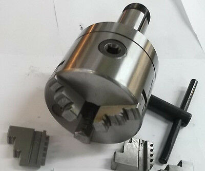 "4"" 3  Jaw 5C Collet Chuck  **new** Pic#"