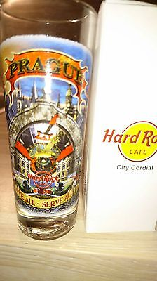 Hard Rock Cafe PRAGUE Cordial Shot Glass