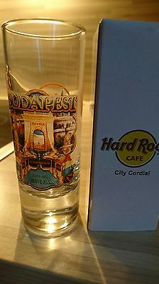 Hard Rock Cafe BUDAPEST City Cordial Shot Glass