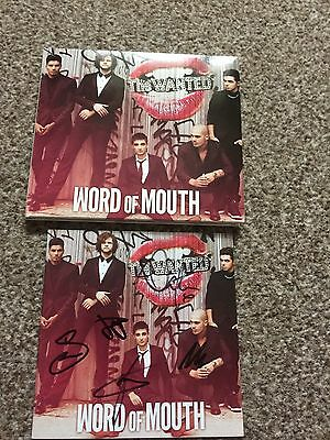 The Wanted Nathan Sykes Signed Autograph Cd