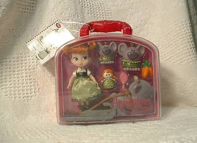 Disney Animators' Collection  Anna  Mini Doll Play Set  NEW in Case