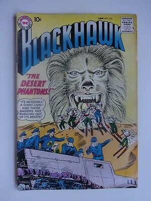Blackhawk #132  War  Phantom Raiders   Rocheteers    Dick Dillin