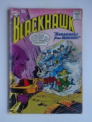 Blackhawk #136  War  Smoke-Master  Marauders from Mercury    Dick Dillin