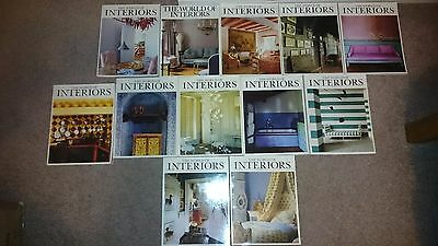 World of Interiors Magazine - 1996 - 12 Issues Complete