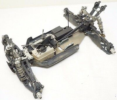 Mugen Seiki MBX6tR 1/8 Scale 4wd RC Nitro Truggy Roller MBX-6tR Silver Carbon