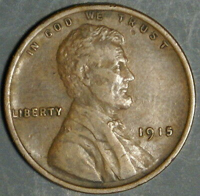 1915  Lincoln Wheat Cent Grade Au  *as Pictured*   Inv 318
