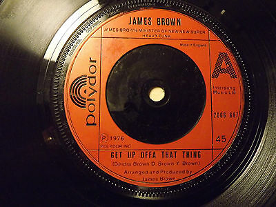 James Brown......Get Up Offa That Thing.......45rpm
