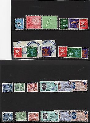 Herm, Assorted Sets Mint And Used