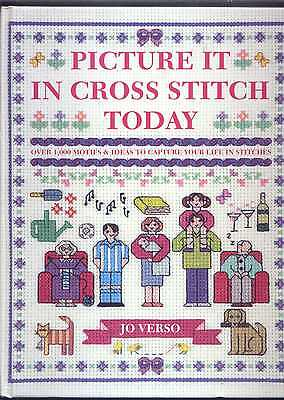 Picture It In Cross Stitch Today Book