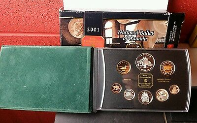 2001 Canada National Ballet of Canada Proof Set