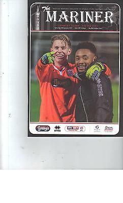 PROGRAMME - GRIMSBY TOWN v EXETER CITY - 14 JANUARY 2017