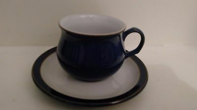 Denby 'Imperial Blue' Cup and Saucer