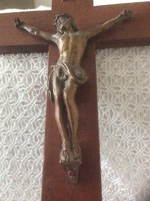 ~*Vintage French Religious Christ Crucifix*~