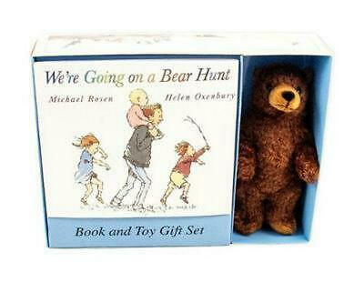 We're Going on a Bear Hunt [With Stuffed Bear] by Michael Rosen (English) Paperb