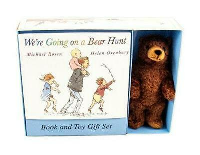 We're Going on a Bear Hunt [With Stuffed Bear] by Michael Rosen Paperback Book (