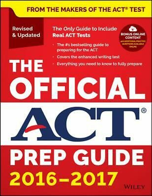 The Official Act Prep Guide, 2016-2017 (Book + Bonus Online Content) by Act Pape