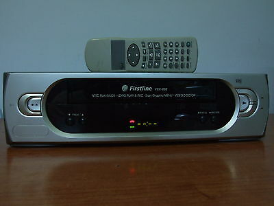 Video VHS FIRSTLINE VCR-202 HIFI  grabador reproductor VCR