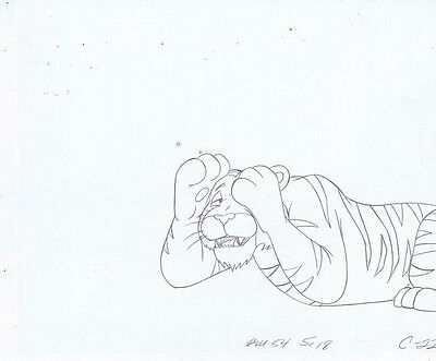HE-MAN Masters of the Universe Original Animation Pencil Drawing #A15422