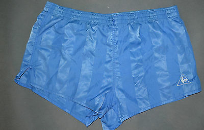 VTG Sprinter Brillant Cuissarde Short Glanz Ibiza Runner Bleu Gay Taille M