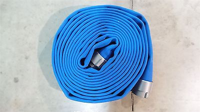 Armored Textiles G52H3HDB50N 50 Ft L 3 In Double Jacket Supply Line Fire Hose