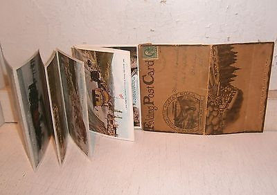 Early 1900's Moffat Road Folding Post Card - 22 Images w/Post Card numbers exc