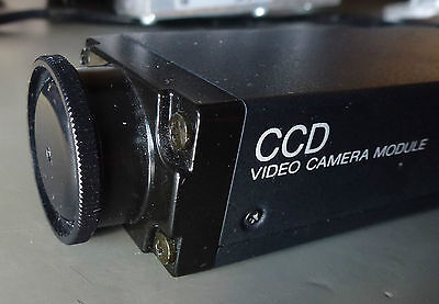 "Sony XC-77 Kamera CCD 2/3"" machine vision Camera VBS  Sync Lens Connector"