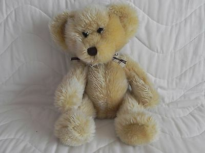 Russ Berrie Kipling Teddy Bear - Bears From the Past - Plaid Bow Tie – VGC