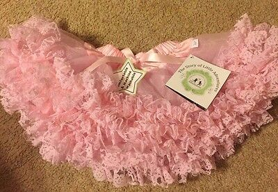 Little Adventures Pale Pink Tutu Skirt NWT 3-8 years NWT