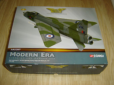 Corgi Aviation Archive Aa32307 Bac Lightning F.3 Xp750 Binbrook 1:72 Scale Model