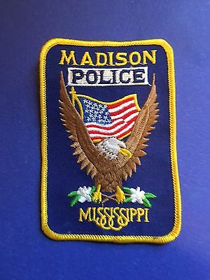Madison Mississippi Police Shoulder  Patch