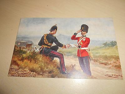 EARLY 1900s HARRY PAYNE PC - OFFICER RAMC & PRIVATE ROYAL WELSH FUSILIERS - VGC