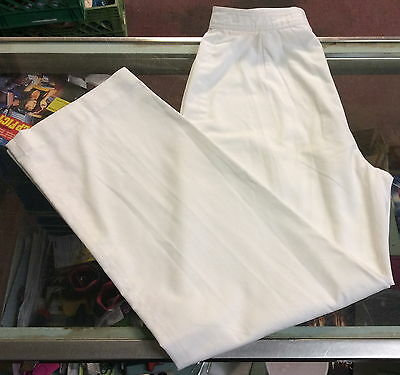 Evan Picone White Linen Pants ~ 28x29
