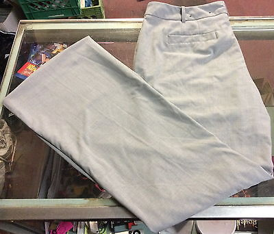 Worthington Grey Gray  Dress Pants ~ Size 16 ~ Curvy Fit