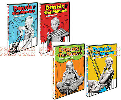 Dennis The Menace Complete Classic TV Series Season 1-4 (1 2 3 & 4) NEW DVD SET