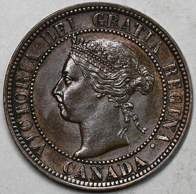1893 Canada LARGE Cent QUEEN Victoria Coin (16062039R)