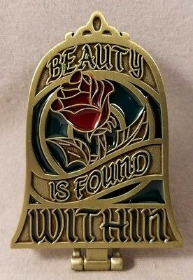 Disney Pin Disney Mirror Beauty and the Beast Beauty is Found Within