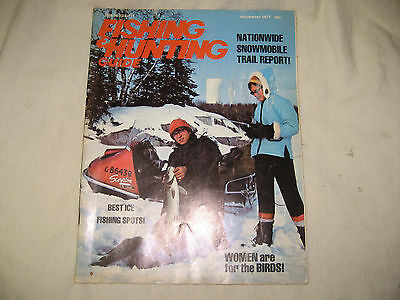 Vintage Fishing Guide & Hunting Guide Paperback 1971