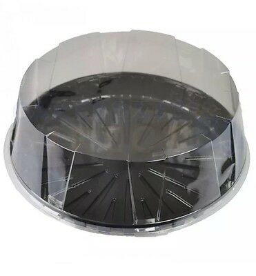 10 x 9 Inch DISPOSABLE CAKE DOMES boxes.