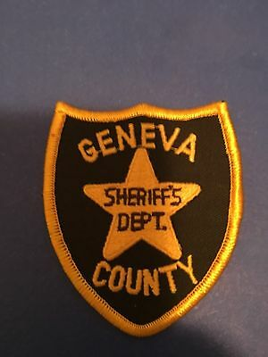 Geneva  County Alabama  Sheriff Small Shoulder  Patch